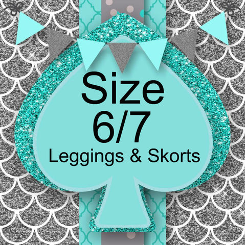 RTS- Size 6/7 Leggings and Skorts