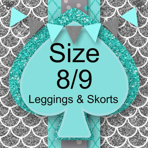 RTS- Size 8/9 Leggings and Skirts
