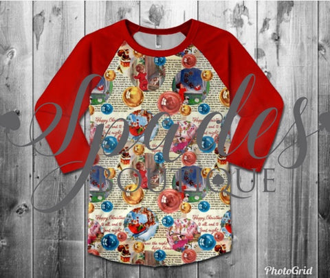 RTS- Twas the Night Before Christmas ADULT Top