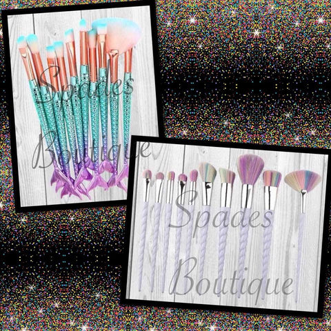 RTS- Makeup Brush Set