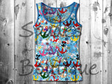 RTS- Disney Anchors Kids Tank Top