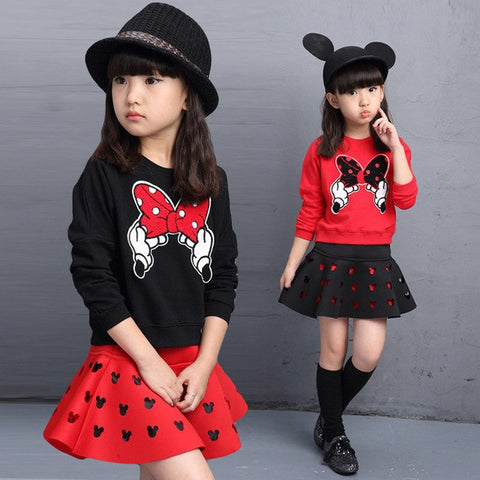 RTS- Minnie Sweatshirt Red Size 2/3