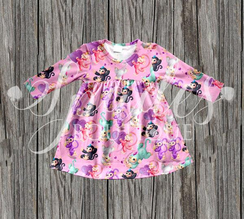 RTS- Fingerling Lap Dress
