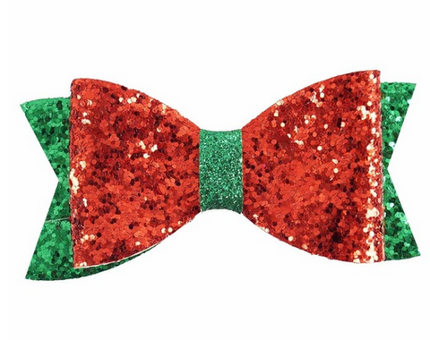 RTS- Christmas Sparkle Bow
