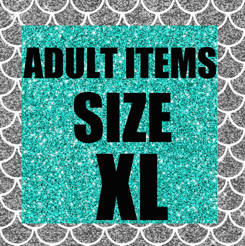 RTS- Adult Size XL Ready to Ship