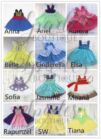 #1408- Princess Dresses