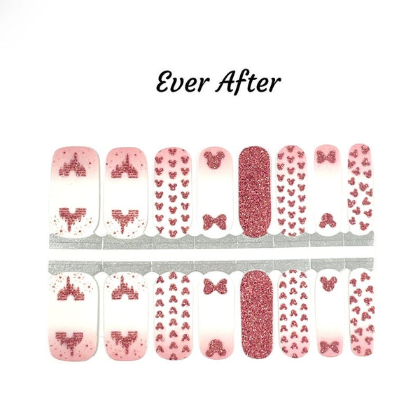 Ever After Nail Wraps #D7