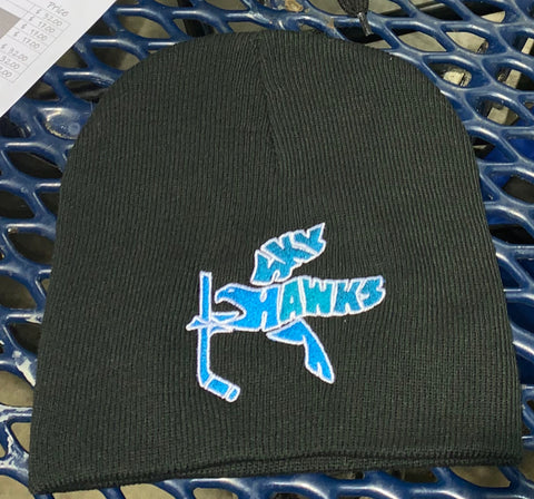 Skyhawks Winter Beanie Hat with Embroidered Logo (One Size)