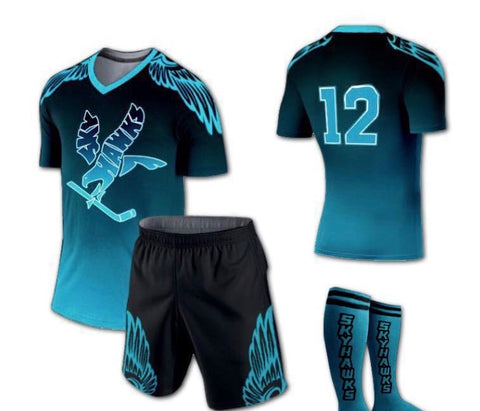 Skyhawks Jersey and Shorts