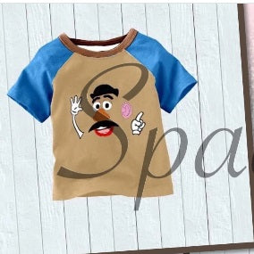 2020- Mr. Potato Head Top Size 10/12