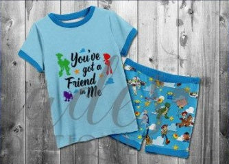 RTS- Toy Story Pj's 3/6m and 12/18m