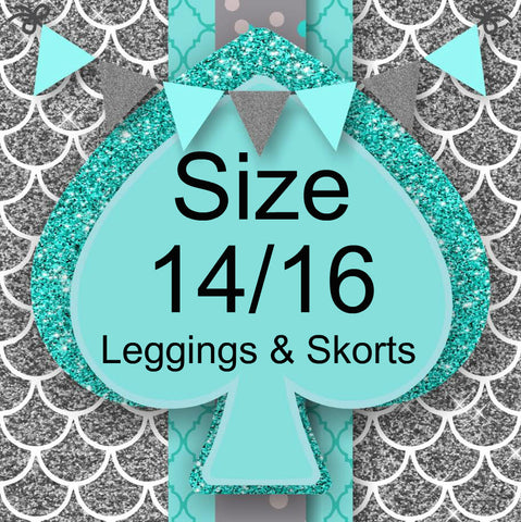 RTS- Size 14/16 Leggings and Skorts