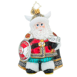 Victorious Viking Ornament