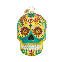 Calavera de Oro Ornament - Centerville C&J Connection, Inc.