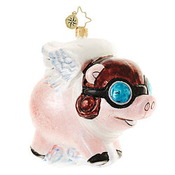Pigs Are Flying! Ornament - Centerville C&J Connection, Inc.
