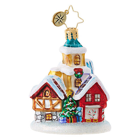 St Nicholas Lane Little Gem Ornament - Centerville C&J Connection, Inc.