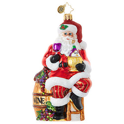 Cabernet Christmas Ornament - Centerville C&J Connection, Inc.