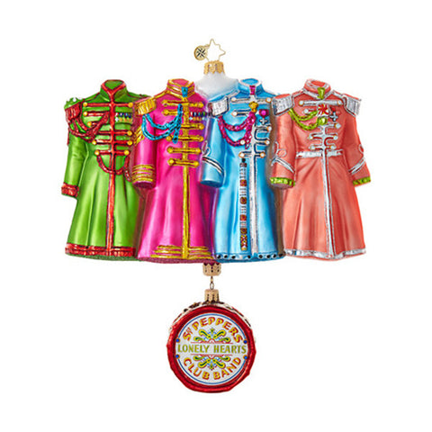 Sgt. Pepper's Coats Ornament - Centerville C&J Connection, Inc.
