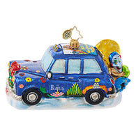 Beatles Yellow Submarine Taxi Ornament - Centerville C&J Connection, Inc.