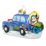 Beatles Yellow Submarine Taxi Ornament