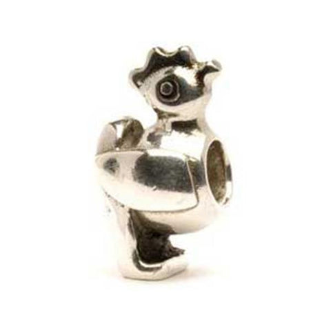 Chicken - Trollbeads Silver Bead - Centerville C&J Connection, Inc.