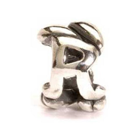 Letter Bead, R - Trollbeads Silver Bead - Centerville C&J Connection, Inc.