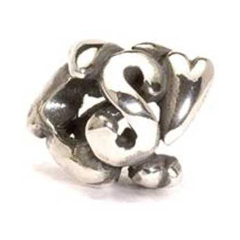 Letter Bead, S - Trollbeads Silver Bead - Centerville C&J Connection, Inc.