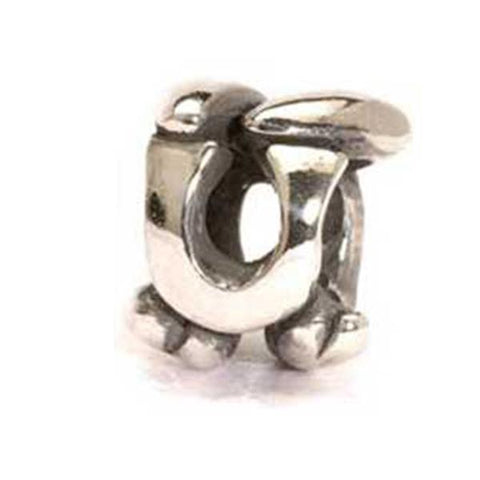 Letter Bead, U - Trollbeads Silver Bead - Centerville C&J Connection, Inc.