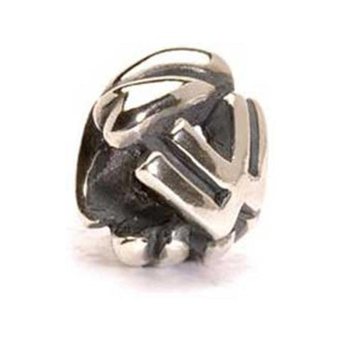 Letter Bead, W - Trollbeads Silver Bead - Centerville C&J Connection, Inc.