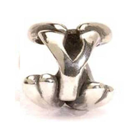 Letter Bead, Y - Trollbeads Silver Bead - Centerville C&J Connection, Inc.