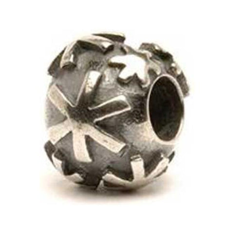 Snow - Trollbeads Silver Bead - Centerville C&J Connection, Inc.
