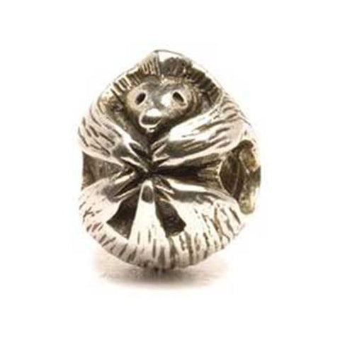 Porcupine - Trollbeads Silver Bead - Centerville C&J Connection, Inc.