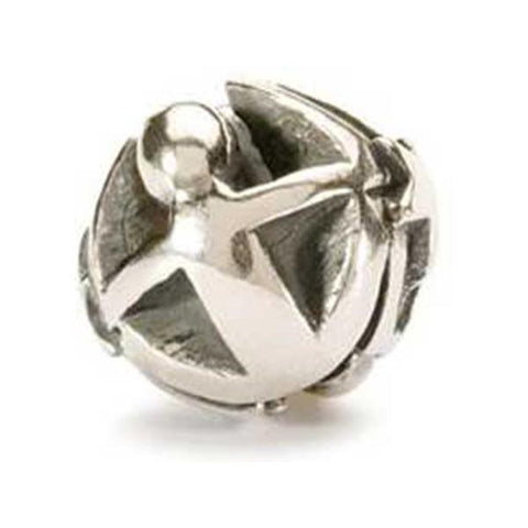 Gemini - Trollbeads Silver Bead - Centerville C&J Connection, Inc.