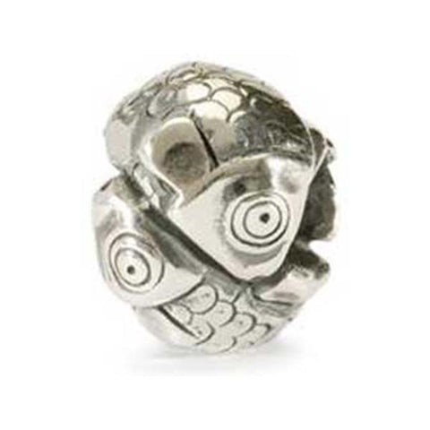 Pisces - Trollbeads Silver Bead - Centerville C&J Connection, Inc.