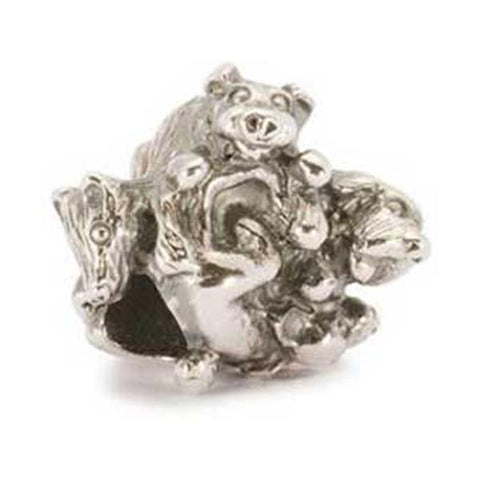 Family of Puppies - Trollbeads Silver Bead - Centerville C&J Connection, Inc.