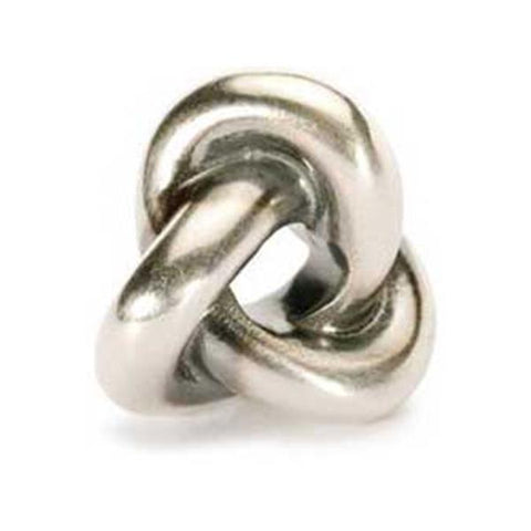 Trefoil Knot- Trollbeads Silver Bead - Centerville C&J Connection, Inc.