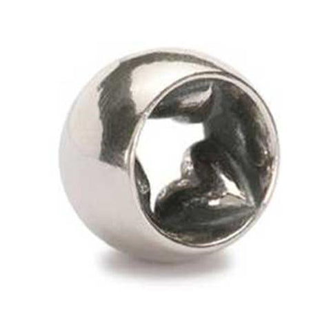 Love With No Engraving - Trollbeads Silver Bead - Centerville C&J Connection, Inc.