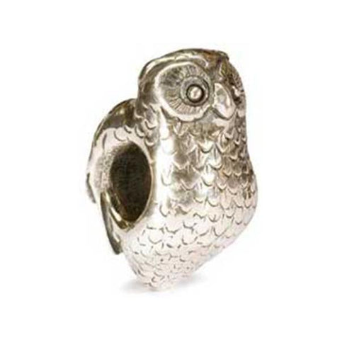 Owl - Trollbeads Silver Bead - Centerville C&J Connection, Inc.