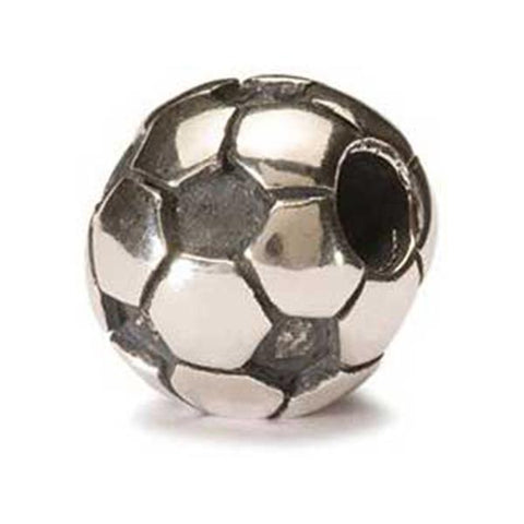 Soccer Ball - Trollbeads Silver Bead - Centerville C&J Connection, Inc.