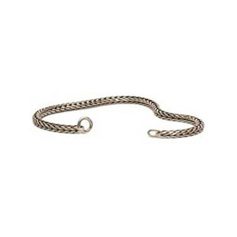 Silver Chain Bracelet 6.3 Inch - Trollbeads Silver Bracelet - Centerville C&J Connection, Inc.