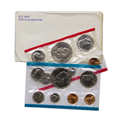 1974 Uncirculated Coin Set - Centerville C&J Connection, Inc.