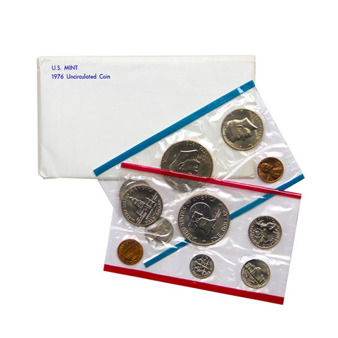 1976 Uncirculated Coin Set - Centerville C&J Connection, Inc.