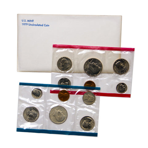1979 Uncirculated Coin Set - Centerville C&J Connection, Inc.