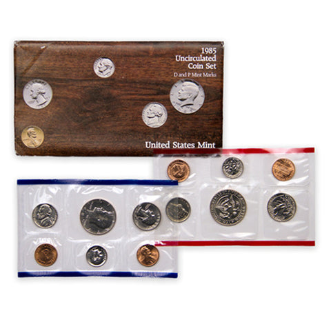 1985 Uncirculated Coin Set - Centerville C&J Connection, Inc.