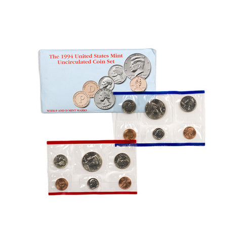 1994 Uncirculated Coin Set - Centerville C&J Connection, Inc.
