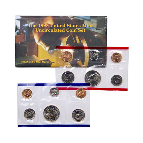 1995 Uncirculated Coin Set - Centerville C&J Connection, Inc.