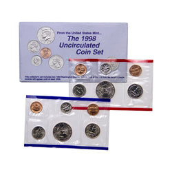 1998 Uncirculated Coin Set - Centerville C&J Connection, Inc.