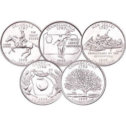 Statehood Quarters 1999