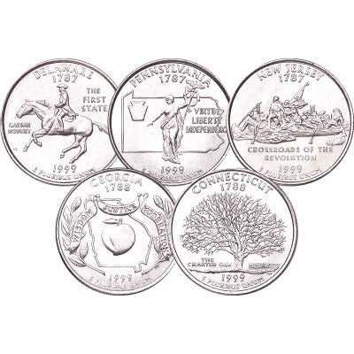 1999 Statehood Quarters - Centerville C&J Connection, Inc.