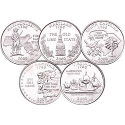 2000 Statehood Quarters - Centerville C&J Connection, Inc.
